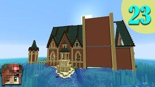 Wall Details!   Vanilla Minecraft 1.13 Let's Build [Episode 23]