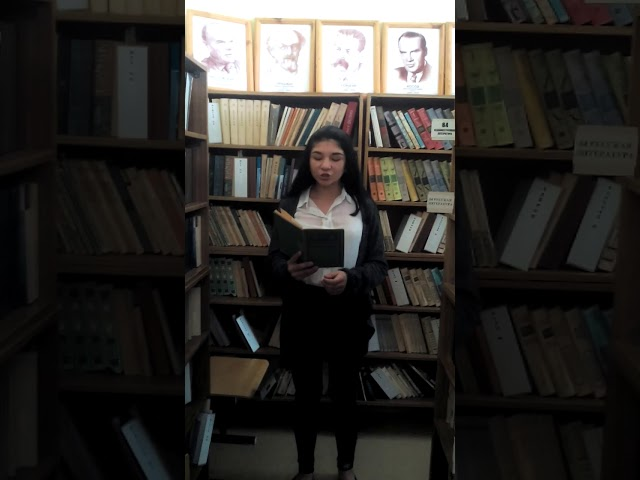 Изображение предпросмотра прочтения – ЕлизаветаМелюхаева читает произведение «Утро в горах» Ф.И.Тютчева
