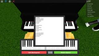 Roblox piano keybourd Havana,darkside and faded sheet(link in description)