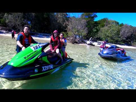 Tangalooma jet ski ride great fun