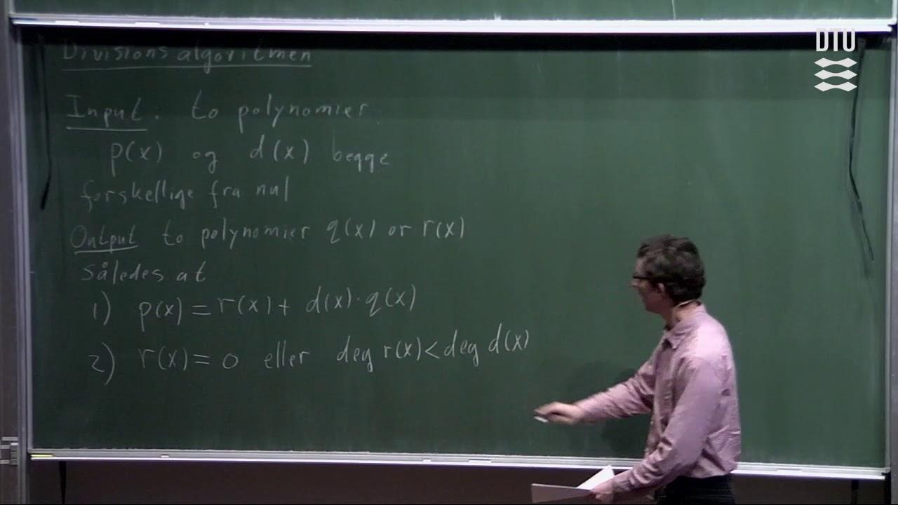 Lek 11 | Diskret Matematik - Polynomier Og Potensrækker (Part 1/2)