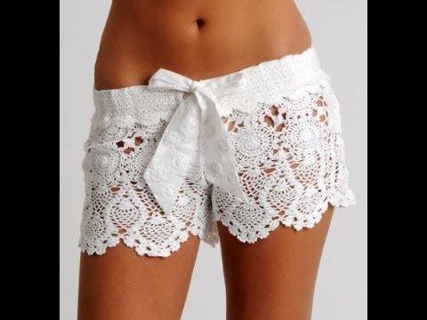 rivenditore all'ingrosso cba5e bd5ab crochet shorts tutorial