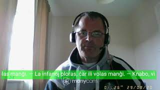 Fundamento De Esperanto Ekzerco 16   Esti, Resti kaj Voki