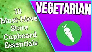 VEGETARIAN!! - 18 MUST HAVE Food | #Vegetarian Series PART 1