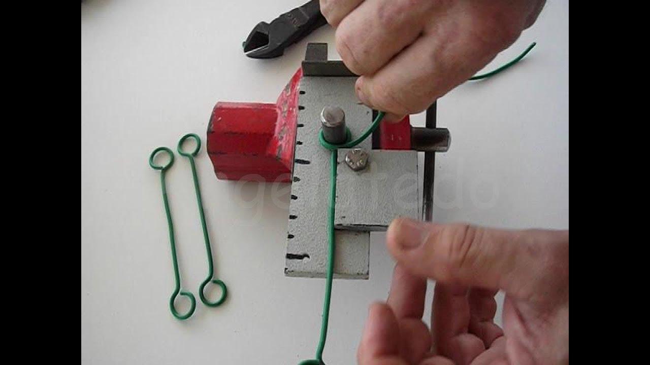 Artilugio para hacer juegos de alambre c mo se hace un for Como hacer un perchero de pared