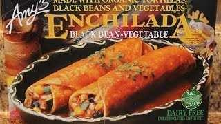 Amy's Enchilada: Black Bean Vegetable Food Review