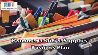 eCommerce online office supplies business plan
