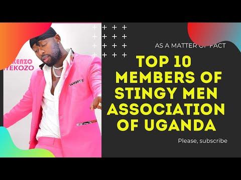 TOP 10 MEMBERS OF STINGY-MEN ASSOCIATION OF UGANDA 2020-2021