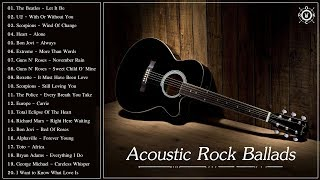 Download lagu Acoustic Rock Ballads - Best Rock Ballads Of All Time