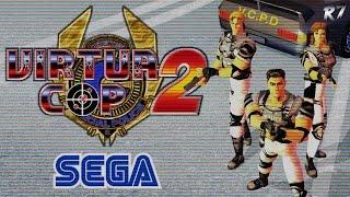 Virtua Cop 2 | Arcade | Longplay | HD 720p 60FPS