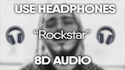 Download Rockstar 8d audio mp3 free and mp4