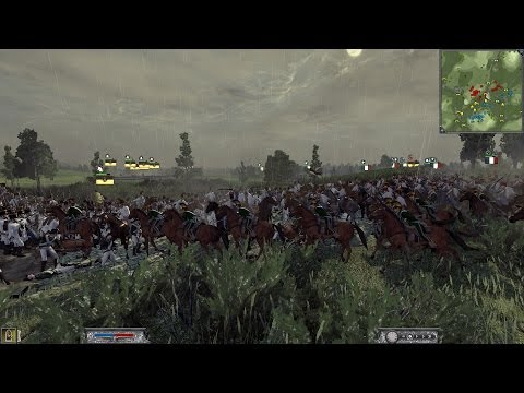 [Bataille commentée] Napoleon Total War Online 2vs2 Maréchal Ney & Maréchal Davout Ligny