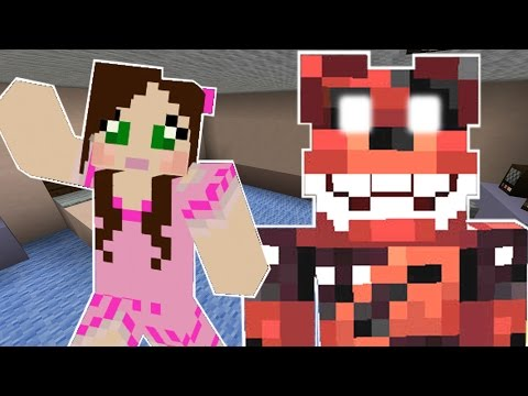 Minecraft: ESCAPE FIVE NIGHTS AT FREDDY'S 4 CHALLENGE - Modded Mini-Game