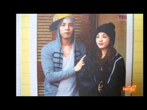G-dragon and Dara PArk - signs :)   지드래곤 박 산다라