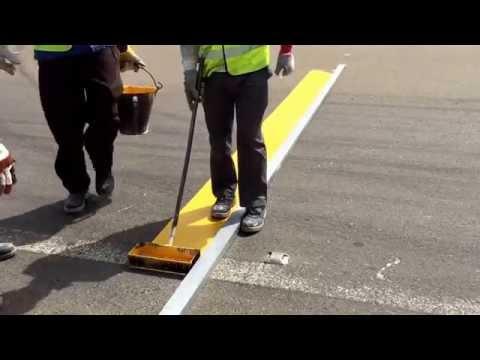 Rumble Strips Marking on Roads
