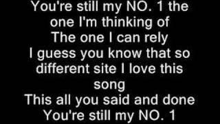 Boa - No 1(English Version) W/lyrics