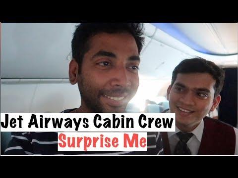 Jet Airways Cabin Crew Surprise Me   Bangkok Day 1
