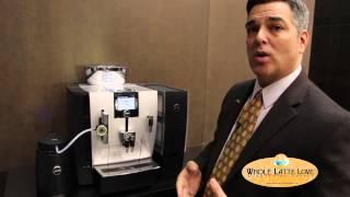 Jura-Capresso Impressa XJ9 Espresso Machine(David from Jura shows Whole Latte Love the XJ9 Professional One-Touch Super-Automatic Espresso Machine. Buy it here: ..., 2013-03-22T21:19:52.000Z)