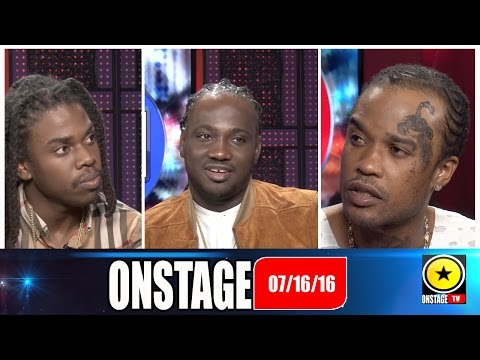 Tommy Lee: I-Octane: Jahmiel: Donnaray: Onstage July 16 2016 (FULL SHOW)