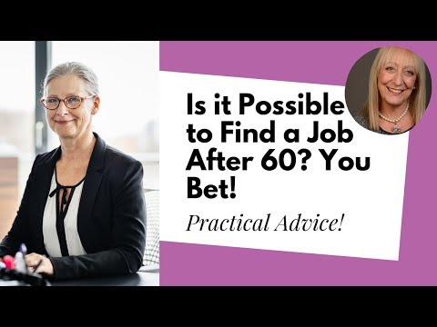 Are There Any Jobs for Older People? 4 Tips for Finding a Job After 60