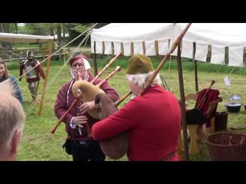 Middeleeuws Festijn Kasteel Cannenburch / Medieval Festival Castle Cannenburch Vaassen Holland 2017