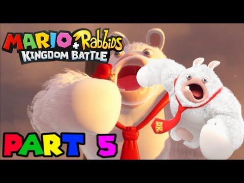 Kong on Rabbid Action! - Mario + Rabbids: Kingdom Battle 100% (Part 5)
