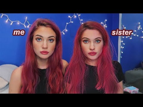 TURNING MY SISTER INTO ME