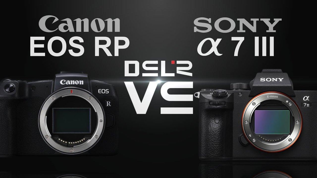 Canon Eos R Vs Sony A7iii Camera Decision