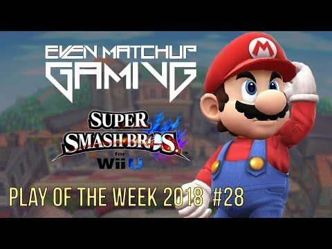EMG Smash 4 Play of the Week 2018 - Episode 28 (SSB4, Super Smash Bros Wii U)