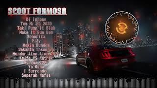 Cover images Bassnya Ngerii Boss!!, DJ Breakbeat Terbaru 2020 Senorita | Dj Iphone | Tum Hi Ho | Mundur Alon Alon