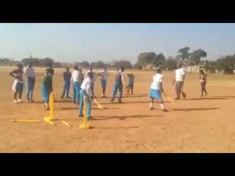 Olympafrica center of Zambia Cricket session