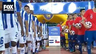 Amistoso: Resumen Honduras 2-1 Chile