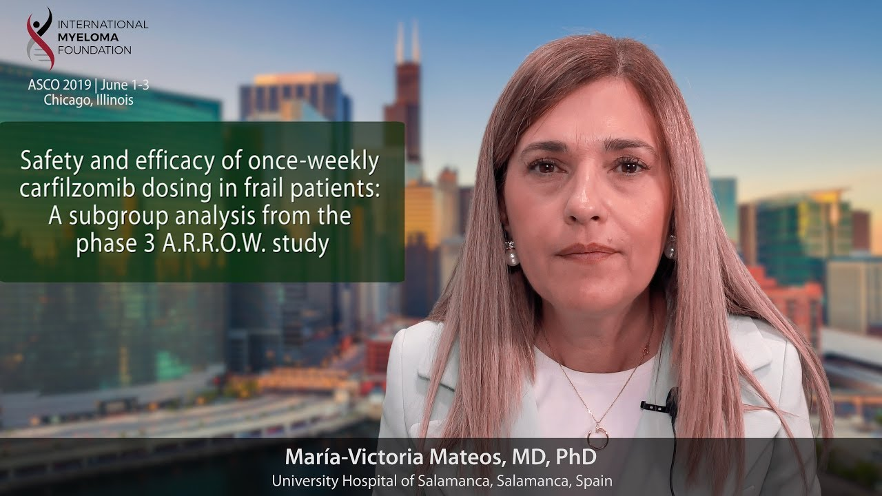 ASCO 2019 Dr  Mateos on ARROW Trial | Int'l Myeloma Fn
