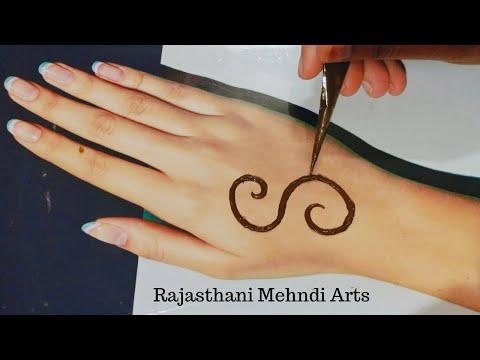 Eid special mehndi design for back hands | Simple henna design | Easy trick mehandi ka design