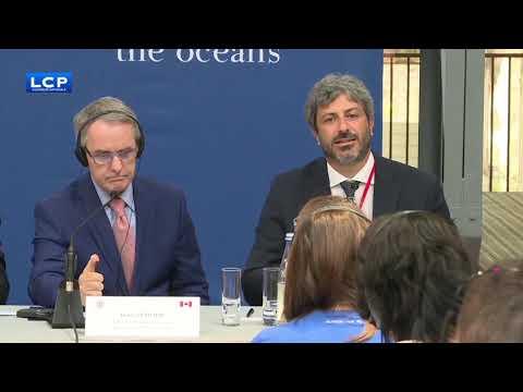 L'intervento alla conferenza stampa del G7 dei Parlamenti a Brest