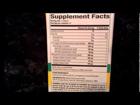 Nature Science: 100% Pure Vegan Omega-3 #Review #NatureScienceSupplements #Health #Supplements