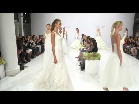Bridal Fashion by Designer Dennis Basso for Spring 2017