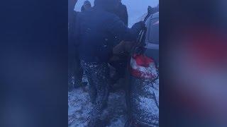 Жесткое ДТП на трассе Тюмень Омск