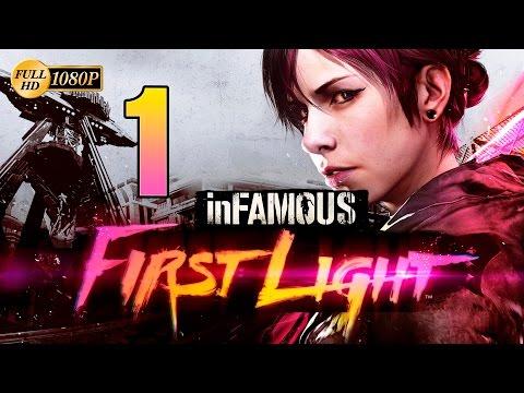 inFAMOUS First Light PS4 Parte 1 Español Gameplay Walkthrough Guia Historia 1080p
