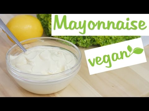 Vegane Mayonnaise I Vegane Mayo selber machen I Majo