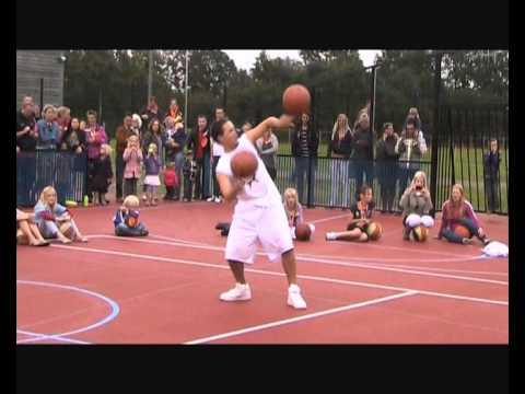 Basketball in Steenwijk met Henk Pieterse