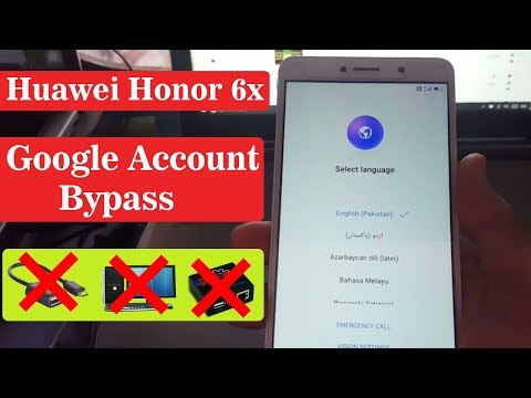 Huawei Y3II (LUA-L22) FRP Bypass/Unlock/Remove/Disable