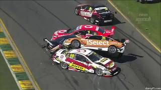 Supercars - Lucas Dumbrell Motorsport Crashes