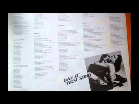 Scorpions  - Love at First Sting 1984 (Full Album) Vinyl