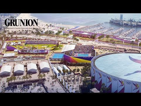 Los Angeles 2028 Olympics in Long Beach