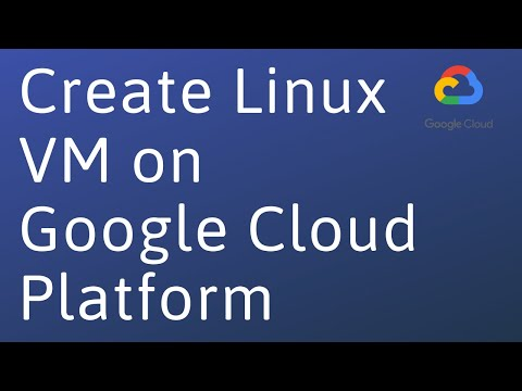 How To Create A Linux Vm On Google Cloud | Google Cloud Tutorial For Beginners