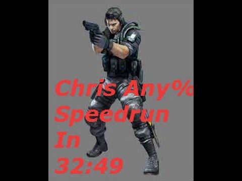 Resident Evil Deadly Silence Chris Any% Speedrun In 32:49