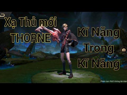 Thorne Tay Súng Huỷ Diệt Hit and Run cực phê | Arena of Valor | Liên Quân Mobile