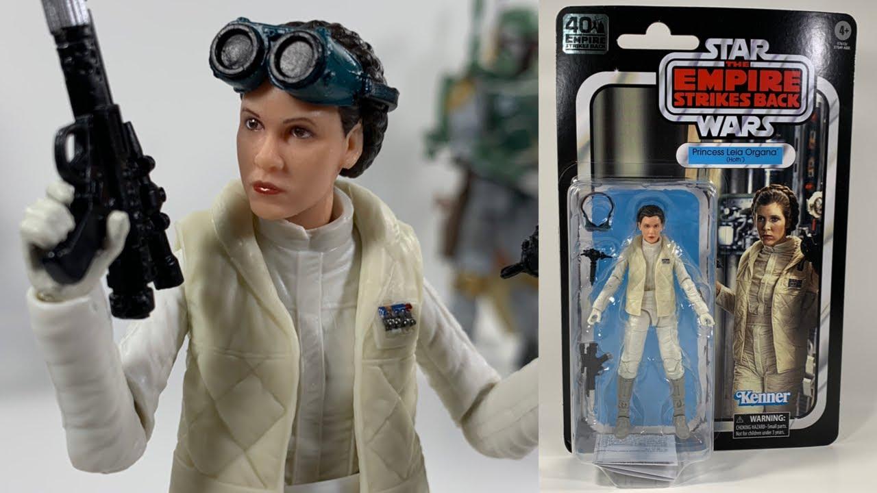NEW Star Wars 40th Anniversary Empire Stirkes Back Leia Hoth