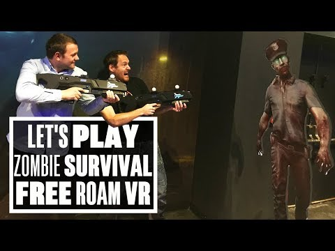Free-Roam Zombie Survival VR At Zero Latency In Nottingham - Ian's VR Corner